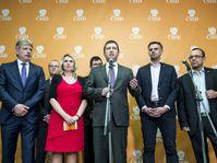 Jan Hamáček (center), photo: CTK