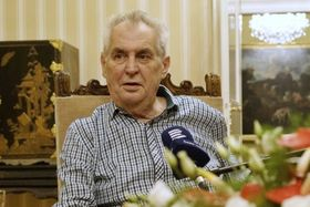 Miloš Zeman, photo: Khalil Baalbaki / Czech Radio