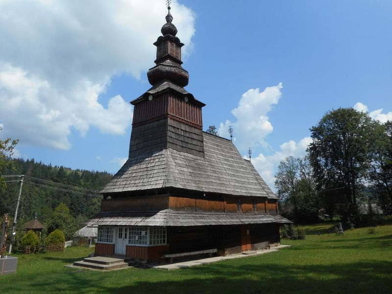 Holzkirche in Pylypets (Foto: Till Janzer)