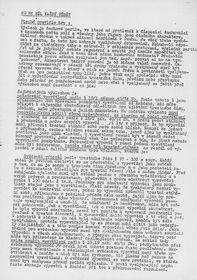 Page sharing information on how to handle an interrogation spread during the revolution, photo: archive of Alžběta Ambrožová