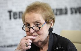 Madeleine Albright, photo: CTK