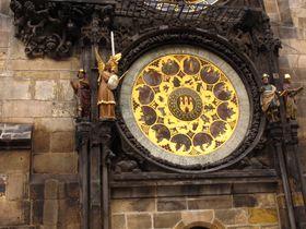 El reloj astronómico en la plaza de la Ciudad Vieja, Praga, foto: Kristýna Maková