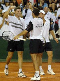 Jiri Novak and Radek Stepanek, photo: CTK