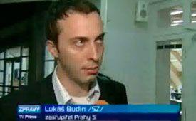 Lukáš Budín, photo: TV Prima