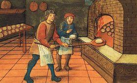 El panadero medieval, foto: Wikipedia, free domain