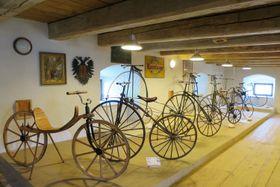 El Museo de Ciclismo de Nové Hrady, foto: Tereza Brázdová, Archivo de ČRo