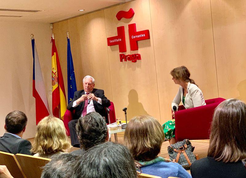 Mario Vargas Llosa, foto: Instituto Cervantes de Praga