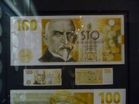 Pamětní bankovka sAloisem Rašínem, foto: Zdeňka Kuchyňová