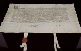 Le traité d'amitié tchéco-français de 1464, photo: ČTK