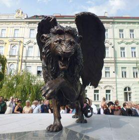 RAF memorial on Klárov, photo: Miroslav Krupička