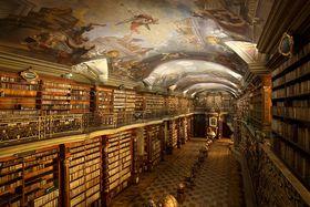 Biblioteca barroca del Clementinum, foto: Jan Kolman