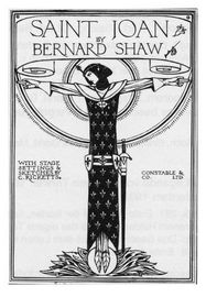 Sainte Jeanne de George Bernard Shaw