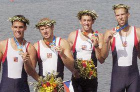 Давид Йирка, Якуб Ганак, Томаш Карас и Давид Копржива (Фото: ЧТК)