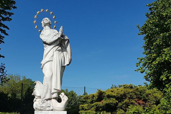 Statue of the Virgin Mary in Exile, photo: Zdeňka Kuchyňová