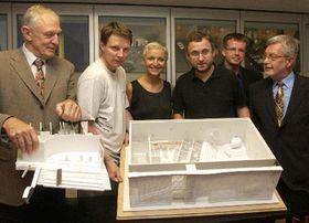 El proyecto de la exposición checa en la EXPO 2005  (Foto: CTK)