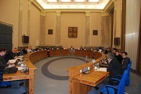 Заседание Совета правительства по координации борьбы с коррупцией, Фото: Архив Правительства ЧР