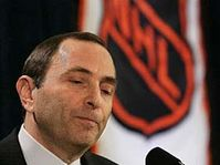 Commissioner Gary Bettman announced the cancellation of the NHL season, photo: CTK