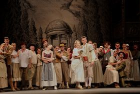 Don Giovanni im Prager Ständetheater (Foto: Miroslav Pavlovič / Národní divadlo)