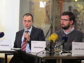 Ондржей Климеш и Якуб Клепал, Фото: Мартина Шнайбергова, Чешское радио - Радио Прага