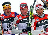 Lukas Bauer (middle) and Martin Koukal (right), photo: CTK