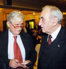 Jiri Dienstbier and Tadeusz Mazowiecki, photo: CTK
