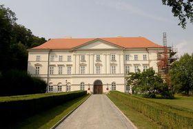 Zámek vBoskovicích, foto: Lasy, CC BY 3.0 Unported
