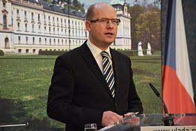 Премьер-министр Богуслав Соботка, фото: архив бюро Чешского правительства