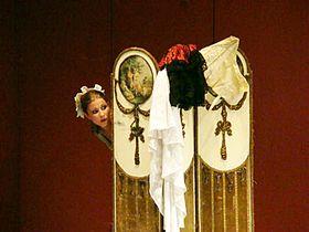 La nozze di Figaro, Kateřina Kněžíková, photo: Le Théâtre National