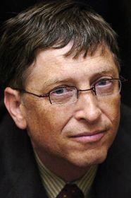 Bill Gates en Praga (Foto: CTK)