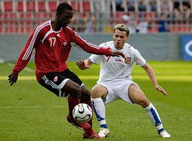 Czech Republic - Trinidad and Tobago, photo: CTK