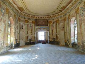 Uherčice chateau, photo: Podzemnik, CC BY-SA 3.0 Unported