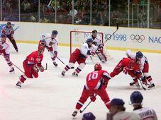 Tschechische Mannschaft bezwang das russische Team mit 1:0 (Foto: Canadaolympic989, CC BY-SA 3.0)