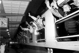 Беженцы из ГДР (Фото: ЧТК)