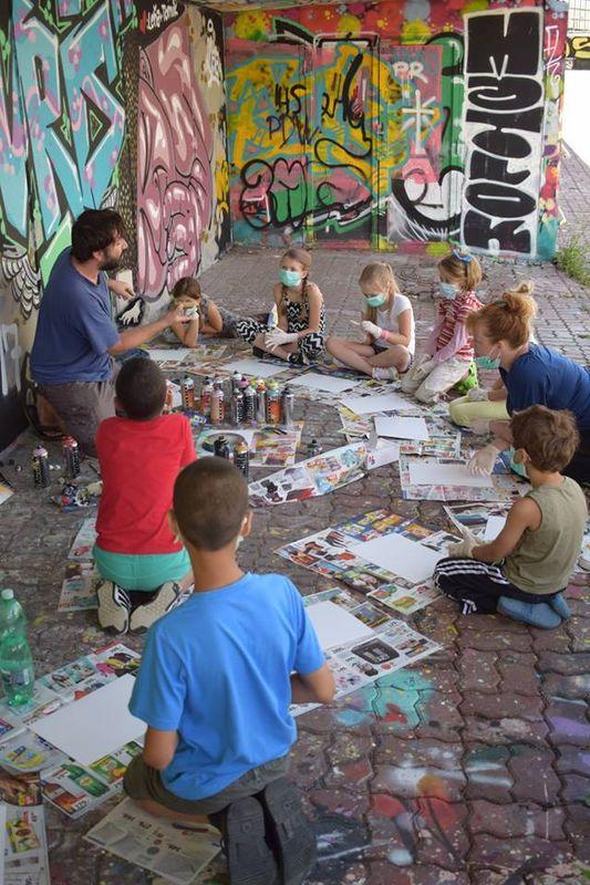 Arte graffiti (Foto: archivo Poradna)