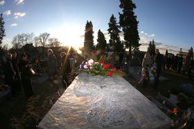 La tumba de Jan Zajíc, foto: ČTK / Petr Sznapka