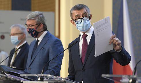 Andrej Babiš et Karel Havlíček, photo: ČTK/Ondřej Deml
