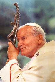 Pope John Paul II, photo: Dennis Jarvis, Flickr, CC BY-SA 2.0