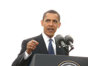 Barack Obama, April 5, 2009, photo: Štěpánka Budková