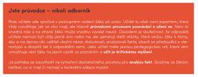 Отрывок из методического пособия Hello Czech Republic, Фото: официальный сайт организации МЕТА
