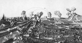 Swedes siege Prague in 1648
