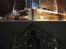V Praze se připojil k Hodině Země například hotel Hilton, foto: ČTK