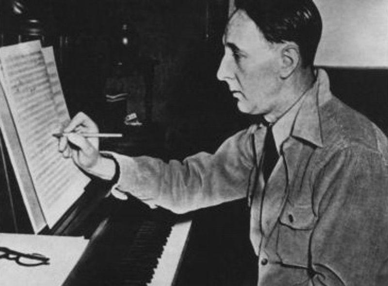 B.Martinů en Nueva York 1942, foto: Fond B.Martinů Polička