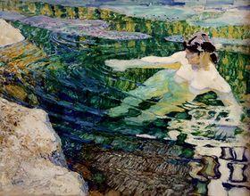 František Kupka, 'L'Eau ou La Baigneuse'