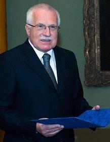 Václav Klaus, photo: CTK