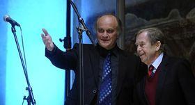 Michael Kocáb et Václav Havel, photo: CTK
