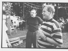 Андрей Кроб и Вацлав Гавел (Фото: ISIFA/ Lidové noviny, Ондржей Немец)