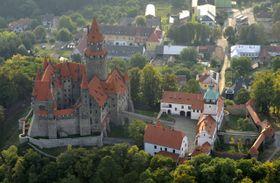La Orden Teutónica pide que devuelva su propiedad, el castillo de Bouzov, foto: ČTK