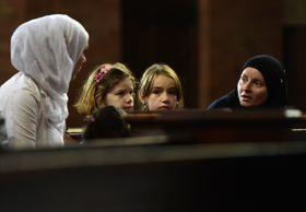 Служба в соборе св. Людмилы, Фото: ЧТК