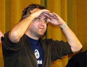 Ян Гржебейк на плзеньском кинофестивале (Фото: ЧТК)