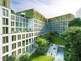 Апартаменты для студентов в Праге 8 (визуализация), фото: Архив Karlín Group